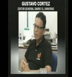 Correa amenazó con presentar fotos de periodistas