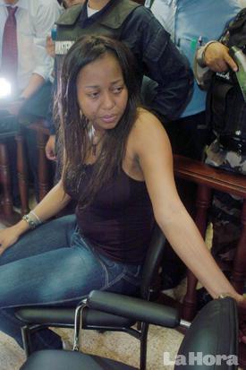 Excomisaria Jackeline Hurtado en libertad