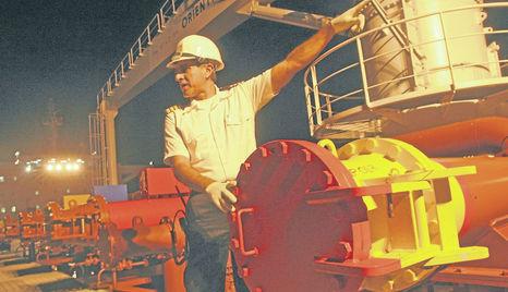 El 80% del petróleo nacional fue a manos chinas en el 2012