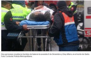 Hombre herido de bala en Quito fallece en hospital del IESS