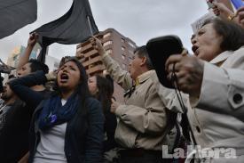 Manifestantes se toman nuevamente la avenida De Los Shyris