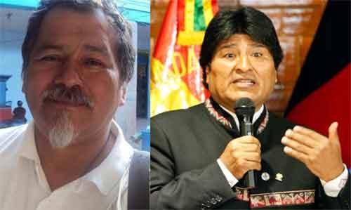 Ex presidente de la CONAIE y Evo Morales coinciden en criterios