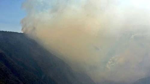 19 incendios forestales afectaron ayer a Quito