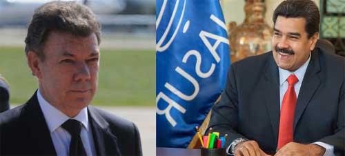 Lunes 21 de Septiembre Santos y Maduro llegarán a Ecuador