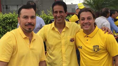 José Francisco Cevallos sería el nuevo presidente del Barcelona Sporting Club