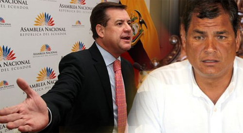 Andrés Páez acepta el uno a uno con Correa