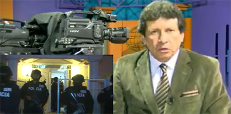 Ecoteltv afirma ser perseguido por el gobierno de Rafael Correa (Video)