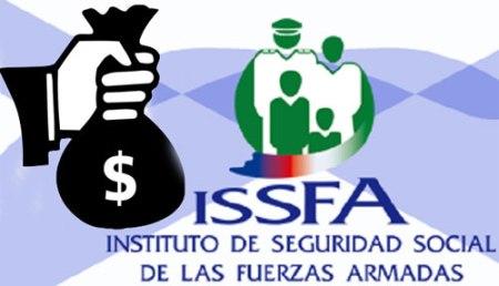 Gobierno dispuso se debiten 41 millones al Issfa