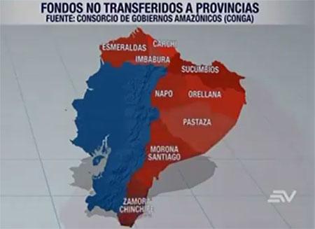Gobierno ecuatoriano tiene un retraso en pagos por 500 millones de dólares, segun Nebot