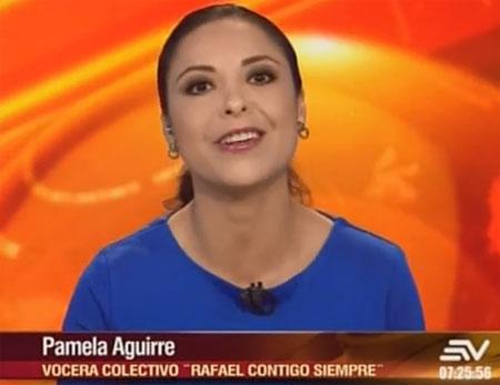 Representante de grupo juvenil dice que quieren que Rafael Correa sea su líder siempre, para seguirle