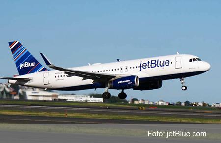 JetBlue inició sus operaciones en Ecuador