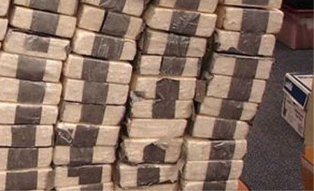 70 kilos de droga, provenientes de Ecuador son incautados en EE.UU