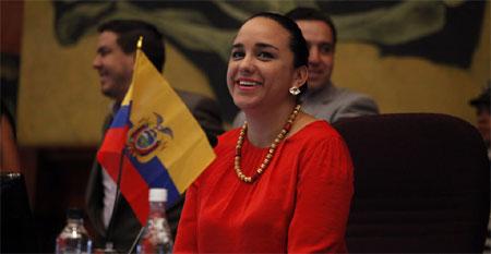 Gabriela Rivadeneira habla de la «violencia obstétrica»