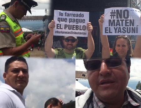 Opositores a Correa asistieron a la sabatina. Mire como les fue.