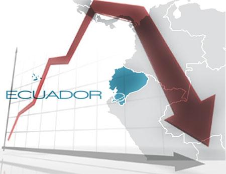 Economía de Ecuador decrecerá en un 4,5% mientras economías de otros países de la región crecerán