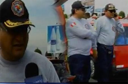 Suspenden viaje de bomberos de Arequipa a Ecuador