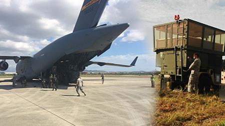 Estados Unidos provee al Ecuador torre de control para tráfico aéreo en Manta