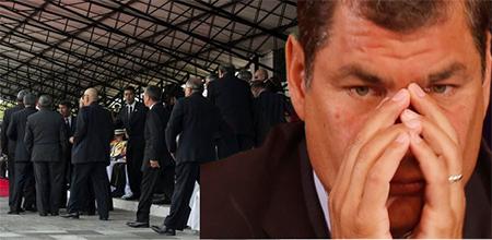 Militares del ISSFA exigen rectificación pública a Correa