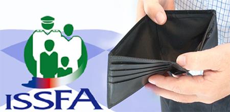 Issfa suspende créditos y tiene retrasos en pagos de cesantía por deuda del gobierno
