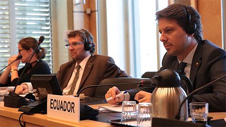 Canciller, Guillaume Long, dice que en Ecuador hay plena vigencia de Derechos Humanos