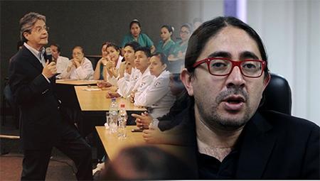 Guillermo Lasso indica que esposa de funcionario de Senescyt recibe doble sueldo (Video)