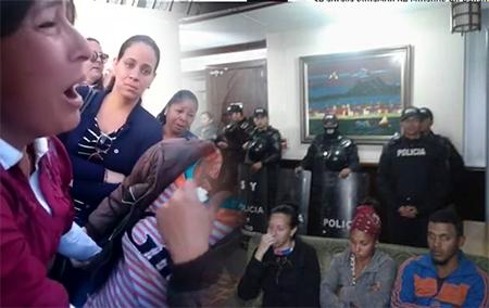 Mientras todos dormían, deportaron a cubanos que pedían salida humanitaria del Ecuador