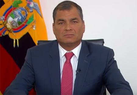 (Video) Correa dice que no es ético que usted diga: «yo con mi plata hago lo que me de la gana». ¿Que opina?