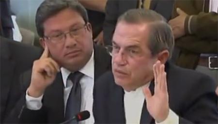 Patiño humilla a General Ernesto González y le manda a callar (Video)