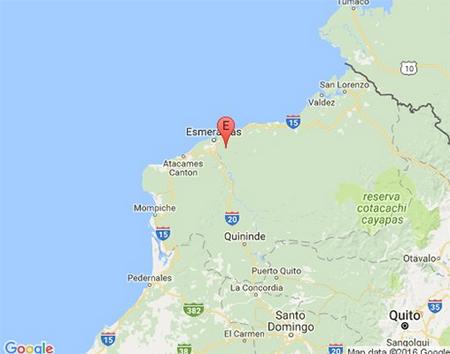 Mañana de sismos en Esmeraldas