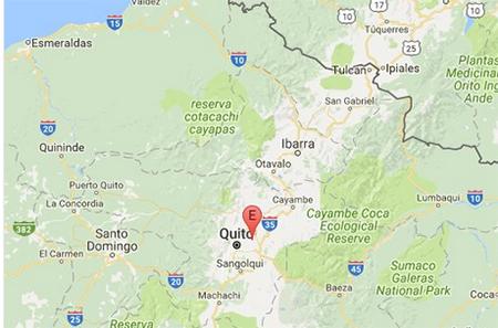 Fuerte sismo se sintió en Quito esta noche