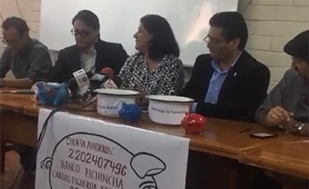Martha Roldós dice que aportes de dinero a Villavicencio para que pague a Correa, son como quien reúne plata para pagar a un secuestador