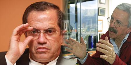 Ricardo Patiño se enoja con periodista Diego Oquendo porque le preguntó sobre la narco valija diplomática (Audio)
