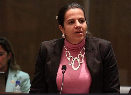 María Paula Romo se unirá a los «que jodieron al país»