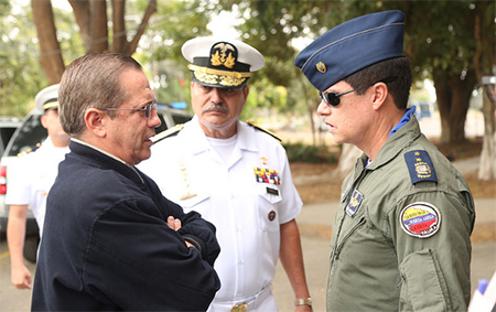 Patiño dice que es un error no haber sancionado al Capitán Ortega y que no permitirá ofensas al presidente