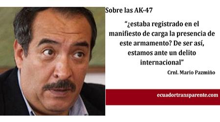 Asistencia humanitaria con AK-47