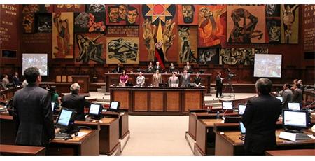 Comunicado de Asamblea Nacional dice que Cynthia Viteri no fue en visita oficial y que respetan las decisiones soberanas de Venezuela