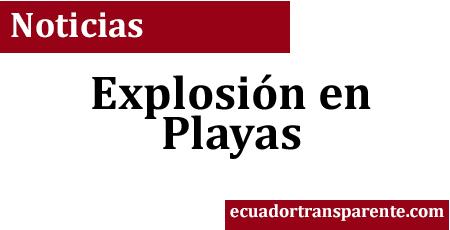Mujer fallece tras explosión