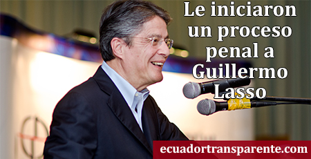 Demandan a Guillermo Lasso por decir que la esposa de René Ramírez recibe doble sueldo