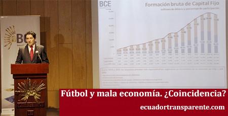 Las malas cifras de la economía se publican cuando hay fútbol