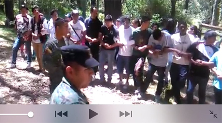 Ministerio de Defensa rechaza responsabilidad sobre video de militares entrenando a civiles