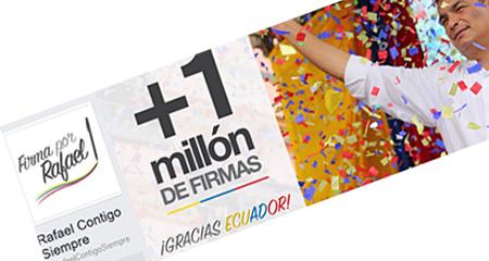 Archivan proceso que buscaba la reelección de Correa