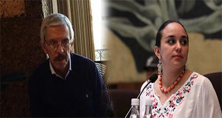 Gabriela Rivadeneira se molesta con periodista Diego Oquendo por decir que en la Asamblea hay «alzamanos» (Audio)