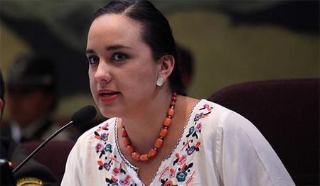 Gabriela Rivadeneira indica que Asamblea condecorará a Cristina Fernández de Kirchner (Audio)