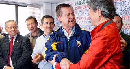 Guillermo Lasso anunció que su compañero de fórmula será Andrés Páez