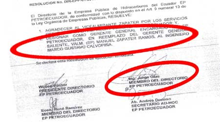 Correa dijo que implicados y detenidos por corrupción no son de la revolución. Este documento demuestra lo contrario.