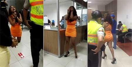 Ministerio del Interior investigará a quienes difundieron el video de exjueza en estado etílico
