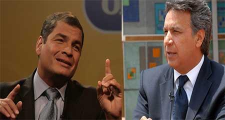 Contradicciones entre Rafael Correa y Lenin Moreno respecto al anticipo del Impuesto a la Renta (Video)