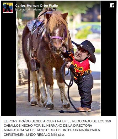 Coronel de la policía denunció un supuesto negociado y publicó un meme del ministro José Serrano. Le pusieron juicio penal
