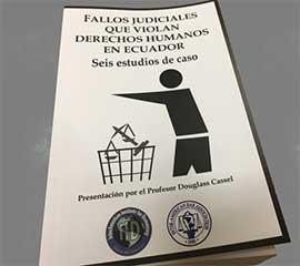 Un libro recoge los peores fallos del poder judicial del Ecuador