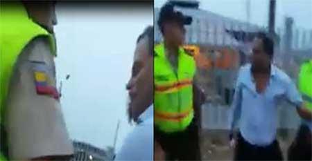 Juez denuncia a policías que lo grabaron mientras los agredía